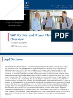 0607 Sap Portfolio and Project Management 6.0 Overview