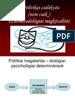 3. Politikai cselekvés_etnometodológia .pps