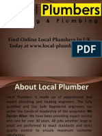 Local Plumbers - Boiler Installation & Gas Repair Service UK