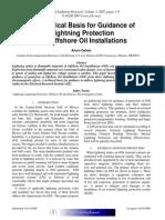 Lightning Protection for Offshore Oil Rigs