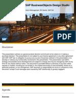 Introducing SAP Design Studio 1.2