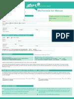 Formulaire Inscription Sur Mesure 1