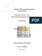 Thermodynamics solutions chapter 1