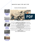 The First Sino Japanese War