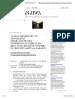 Belahan Jiwa_ Ulasan Teknis_strategi Penanganan Pekerjaan_proyek Pembangunan Tanki 20.000 Bbls, 10.000 Bbls Dan 2.000 Bbls Di Ubep Sangasanga & Tarakan