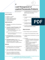 Pneumonia Pediatrics