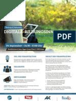Rmo Einladung Bitgeneration Plakat a3