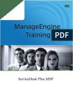 SDPMSP Training