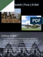 Motif-motif Rumah Ibadah Bali