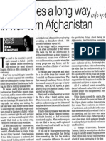 A Little Goes a Long Way in War Torn Afghanistan