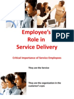 6 Employyes Role in Service Delivery