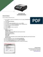 Configurar Rede - ToLEDO PRIX 4 UNO