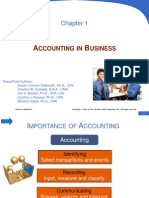Principles of Financial Accounting - Ch 1 notes