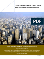"US Army Report ""Megacities"""