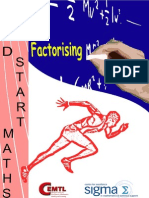 Guide to Factorising