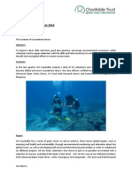 Monthly Achievements Case Study - Seychelles Marine Expedition July 2014