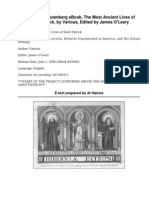 The Most Ancient Lives of Saint PatrickIncluding the Life by Jocelin, Hitherto Unpublished in America, and His Extant Writings by Various