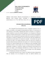 Estudos Pré-Saussurianos (Resumo)
