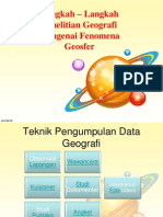 Teknik Penelitian Geo Sma 1