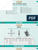 Safelok Block&BleedValves Catalogue