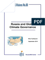 Russia and Global Climate Governance
