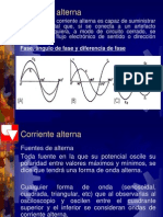 Corriente Alterna y Analisis Fasorial