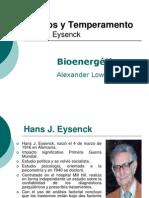 Rasgos y Temperamento Bionergetica