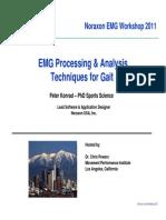 Peter Konrad - EMG in Gait Analysis