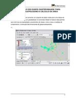 Conversão dos dados raster/imagem  para shapefile/polígono e cálculo da área