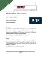 EL PROBLEMA DE ESPAÑA EN CLAVE SPENGLERIANA.pdf