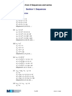 Sequences - Solutions