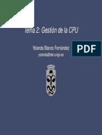 Gestion de La CPU