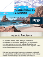 Bayron Sanguino-impacto Ambietal de La Mineria