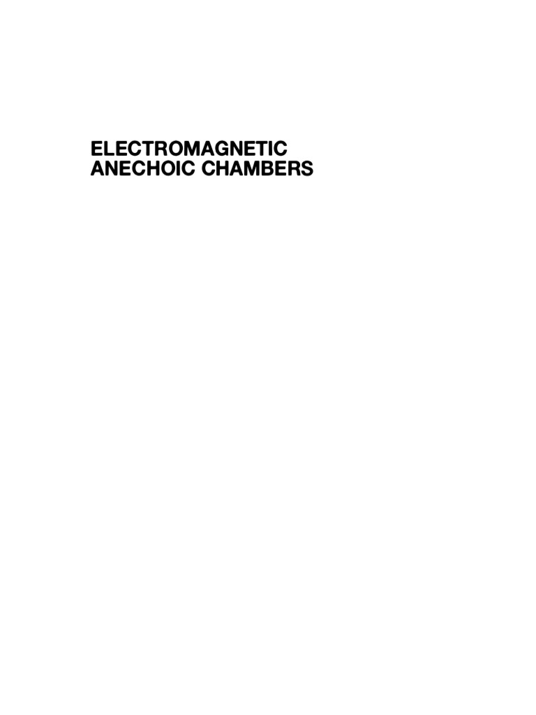 Anechoic chambers a fundamental design and specification guide anechoic chambers a fundamental design and specification guide decibel antenna radio fandeluxe Choice Image