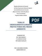 Ordenamiento Jurídico Protectores Del Medio Ambiente