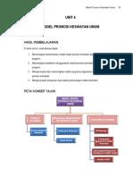 Unit 4 Model Promosi Kesihatan Umum