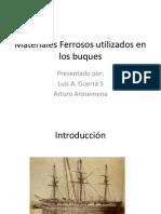 Presentacion de Acero. Tecnología Naval.