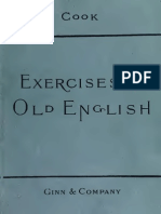Excercises in Old English