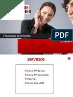 Presentacion CLAROTV HFC Vendedores