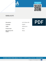 TYPE-CERTIFICATE FOR NOISE No. EASA.A.015 for A340  Airbus