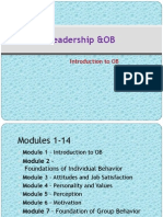 LOB Module 1 Introduction