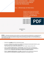MODELO ATPS - Fundamentos e Metodologias de Matematica