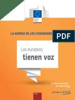 La Agenda de Los Ciudadanos de La UE