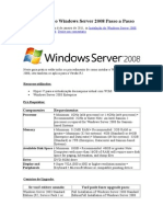 Como Instalar o Windows Server 2008
