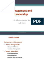 1 2 Management & Leadership