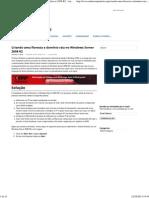 Criando Uma Floresta e Domínio Raiz No Windows Server 2008 R2 - AndersonPatricio