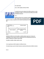 Transicion a Niif Completas o Niif Pymes