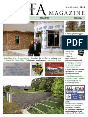 March April 2014 Standard Of Review Cremation