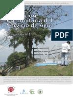 Cartilla Nº3 Prestación Comunitaria Del Servicio de Agua