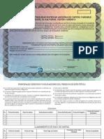 Certificado de Accion